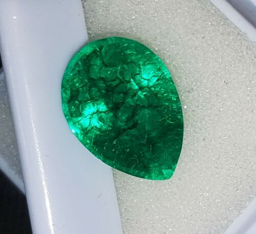 Certified Natural Emerald Loose Gemstone 5.70 Ct With Free Shipping