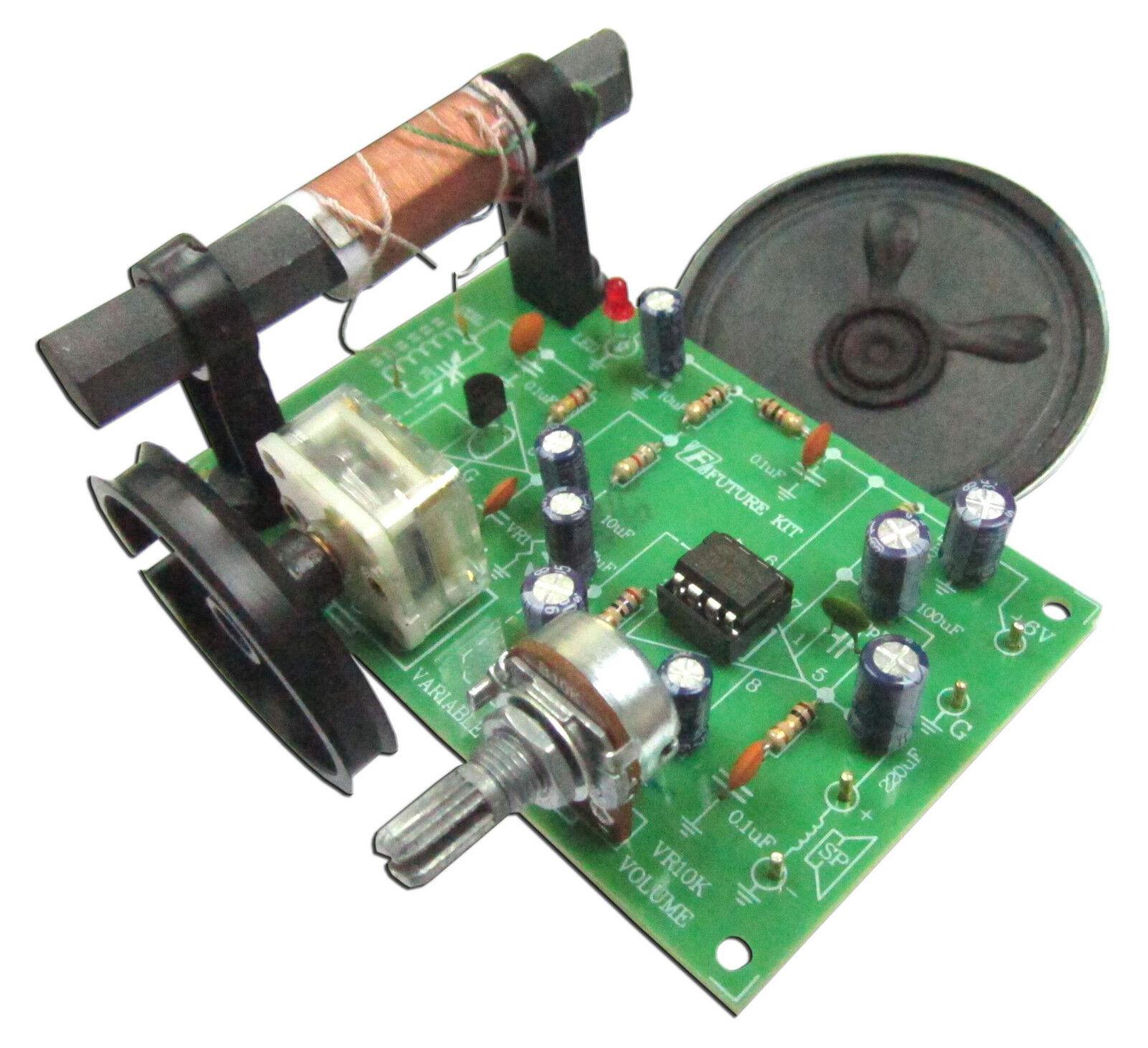 ✔️ Модель электрического и тестового оборудования AM Radio Experiment Circuit board Assembed kit 6VDC with free 2.5W speaker FA713 ? купить