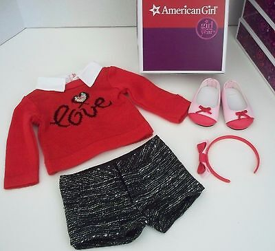 AMERICAN GIRL CITY  OUTFIT FOR GRACE THOMAS DOLL WITH BOX -NEW  on Rummage