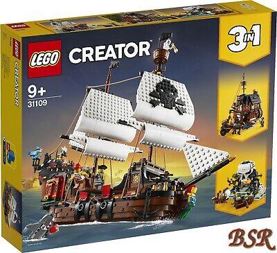 Lego Creator: 31109 Barco Pirata & Envío & Nuevo & Emb.orig