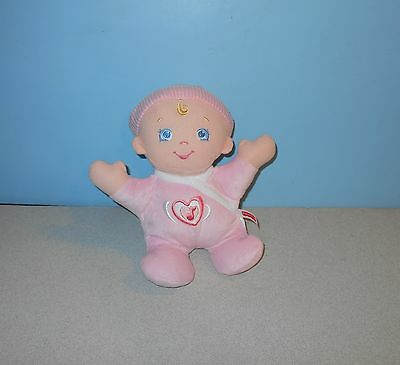 9  Fisher Price Hug N Giggle Baby Soft Doll Pink Laughing Plush Toy  V6939