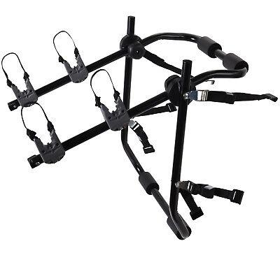 Bike Rack Trunk Hitch Mount Carrier Adjustable  for Cars Sedans Travel