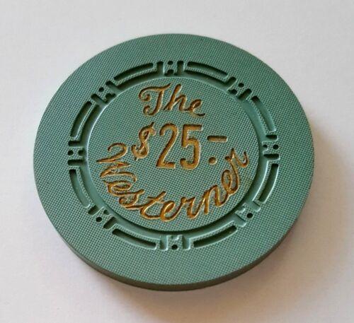 $25 Las Vegas The Westerner Casino Chip - Near Mint