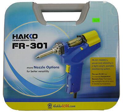 New Hakko Fr301-03p Desoldering Gun Tool Fr-301 Replaces Fr-300 Fr300-05p