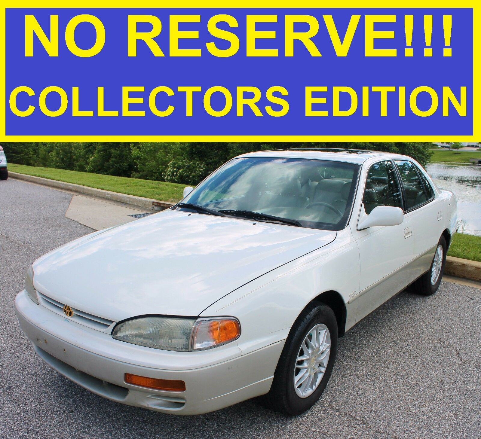 2000 Toyota Corolla For Sale: 1996 Toyota Camry Le Collector Edition!! 3.0 V6!! 97 98 99