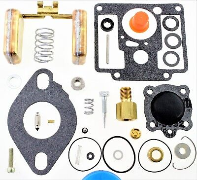 Carburetor Kit Float Fits Generac 25kw Generator Welder Zenith 14192 84312 R40