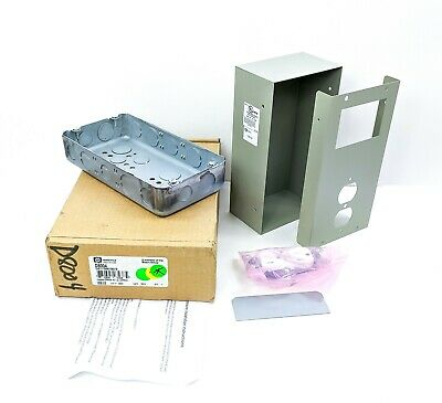Radionics Transformer Enclosure Kit Light Gray 18 Gauge Galvanized Steel D8004