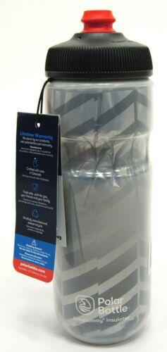 Polar Bottles Breakaway Bolt Insulated Water Bottle - 20oz Charcoal/Silver