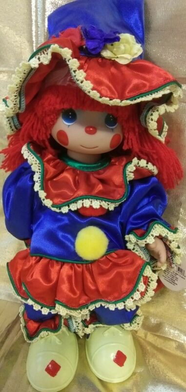 "Precious Moments Doll 2006 Clowning Around 12"" w Tag Red Hair NEW"