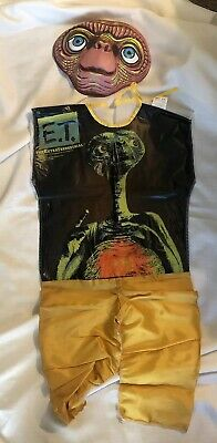 Et Halloween Costume Kids (Vintage E.T. Halloween Costume The Extraterrestrial Child Small 4-6 yr Original)