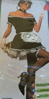 FRENCH MAID Halloween concepts LADIES Fancy Dress Costume - SIZE UP TO SIZE (Halloween French Maid Kostüm)