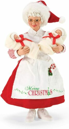 Dept 56 New 2020 Possible Dreams COMFORT AND CUDDLES MRS. CLAUS W/BABIES 6006038