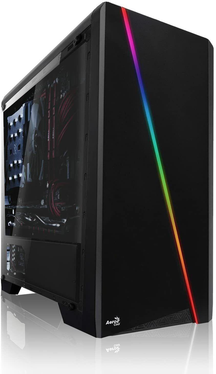 Ultra SSD Ryzen7 16-Thread - 16GB - GTX 1650 4GB - 256 GB SSD Gaming-PC Computer