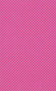 8 A4 Sheets of Polka Dot Card - Pink with White Dot 260gsm New
