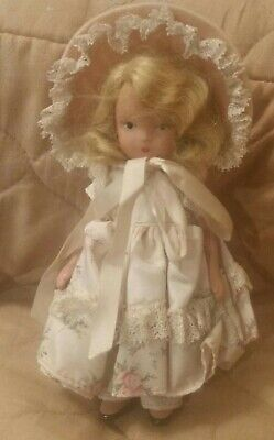 Vtg Bisque Nancy Ann Storybook Doll