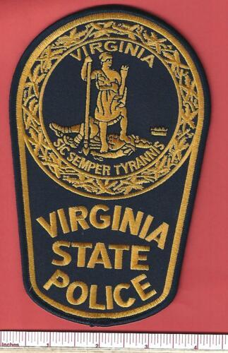 Virginia VA State Police Trooper Highway Patrol Law Enforcement Shoulder Patch