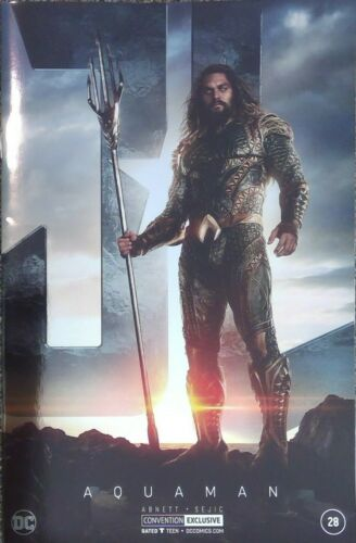 Aquaman #28 foil photo variant cover__NM- or better__Jason Momoa