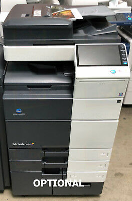 Konica Minolta Bizhub C654 A3 Color Laser Copier Printer Scanner Mfp 65ppm C754