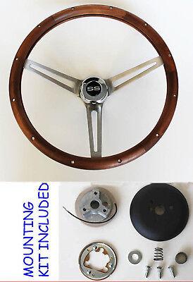 "1967 Camaro steering wheel SS 15/"" CLASSIC WALNUT Grant"