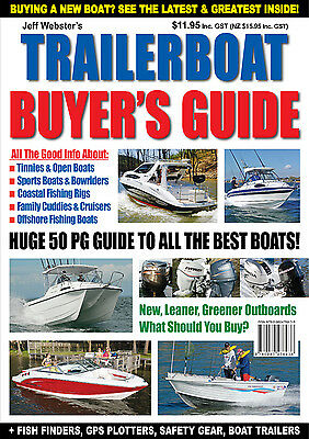 Trailerboat Buyer's Guide by Jeff Webster. Reviews on Whittley, Seafarer, Stacer