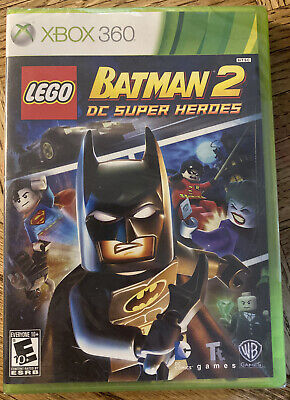 LEGO Batman 2: DC Super Heroes (Microsoft Xbox 360) SEALED BRAND NEW!!