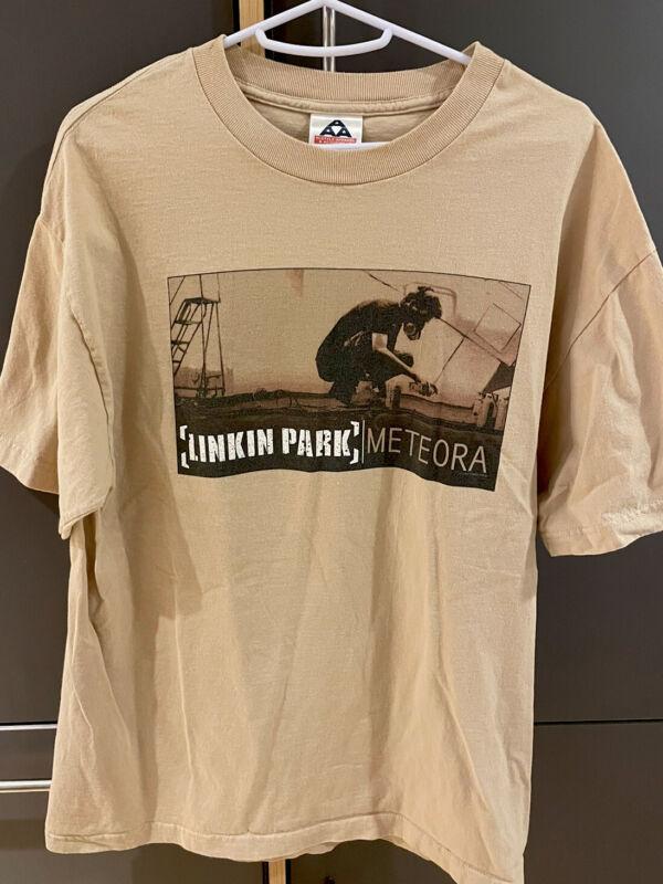 Linkin Park Meteora Worldwide Tour 2004 Short Sleeve Graphic T-Shirt - Large