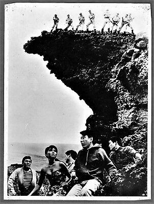 vintage original photo Kaiju movie Godzilla vs the sea monsters cinema Japan 66