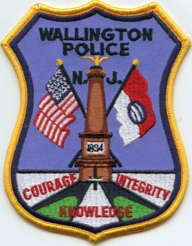 WALLINGTON NEW JERSEY NJ POLICE PATCH