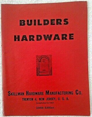 Vintage 1956 SKILLMAN Mfg. Co. Lock Catalog: Builders Hardware W/1955 Price List