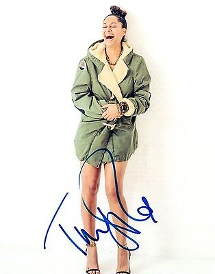 Tracee Ellis Ross  Signed Autographed 8X10 Photo Blackish Coa Vd
