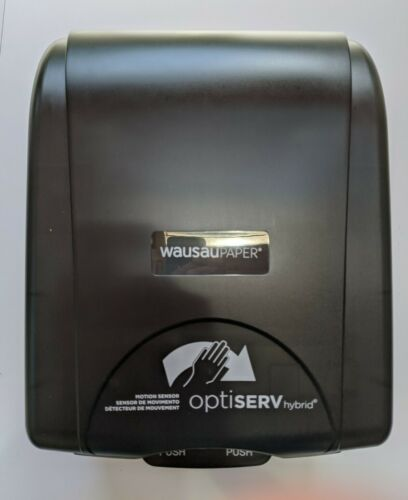 Touch Free Hands-Free Roll Paper Towel Dispenser OptiServ 87530 Hybrid OptiServ