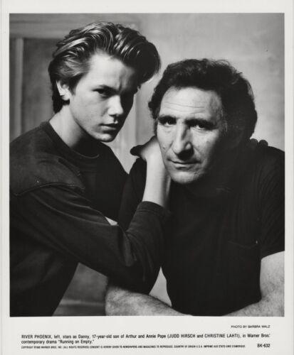 River Phoenix, Judd Hirsch ~ ORIGINAL 1988 portrait ~ Running on Empty