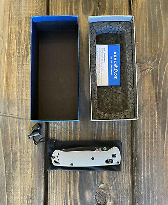 Benchmade Bugout Gray G10 w/ 20CV | Limited Edition & Sold Out | 535BK-2002 NEW