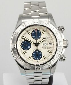 Breitling superocean chrono mens watch