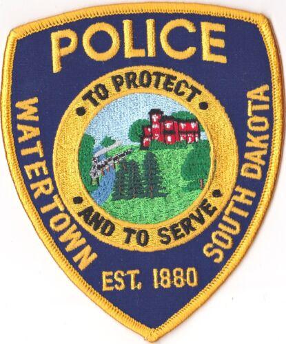 Watertown Police Patch South Dakota SD