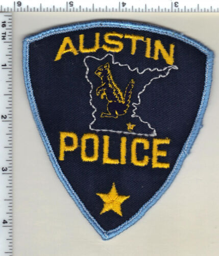Austin Police (Minnesota) Uniform Take-Off Shoulder Patch from 1985