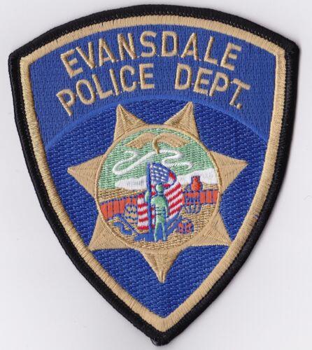Evansdale Police Patch Iowa IA