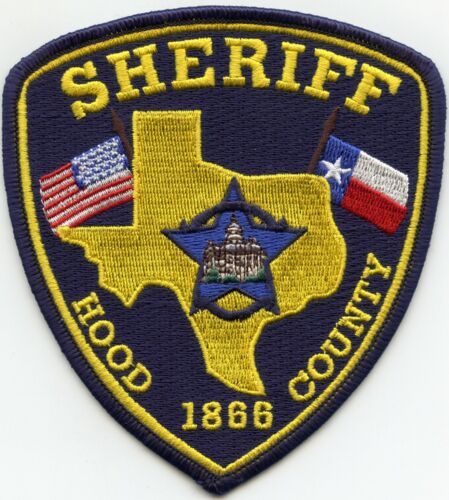 HOOD COUNTY TEXAS TX SHERIFF POLICE PATCH