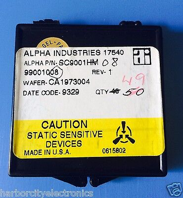 Sc9001hm Alpha Industries Capacitor Chip Rf Microwave Product 49units Total