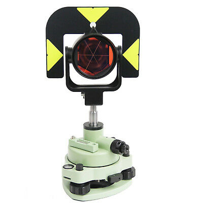 Leica Type Survey Prism Reflector Set Tribrach W Optical Plummet Gpr121 Style