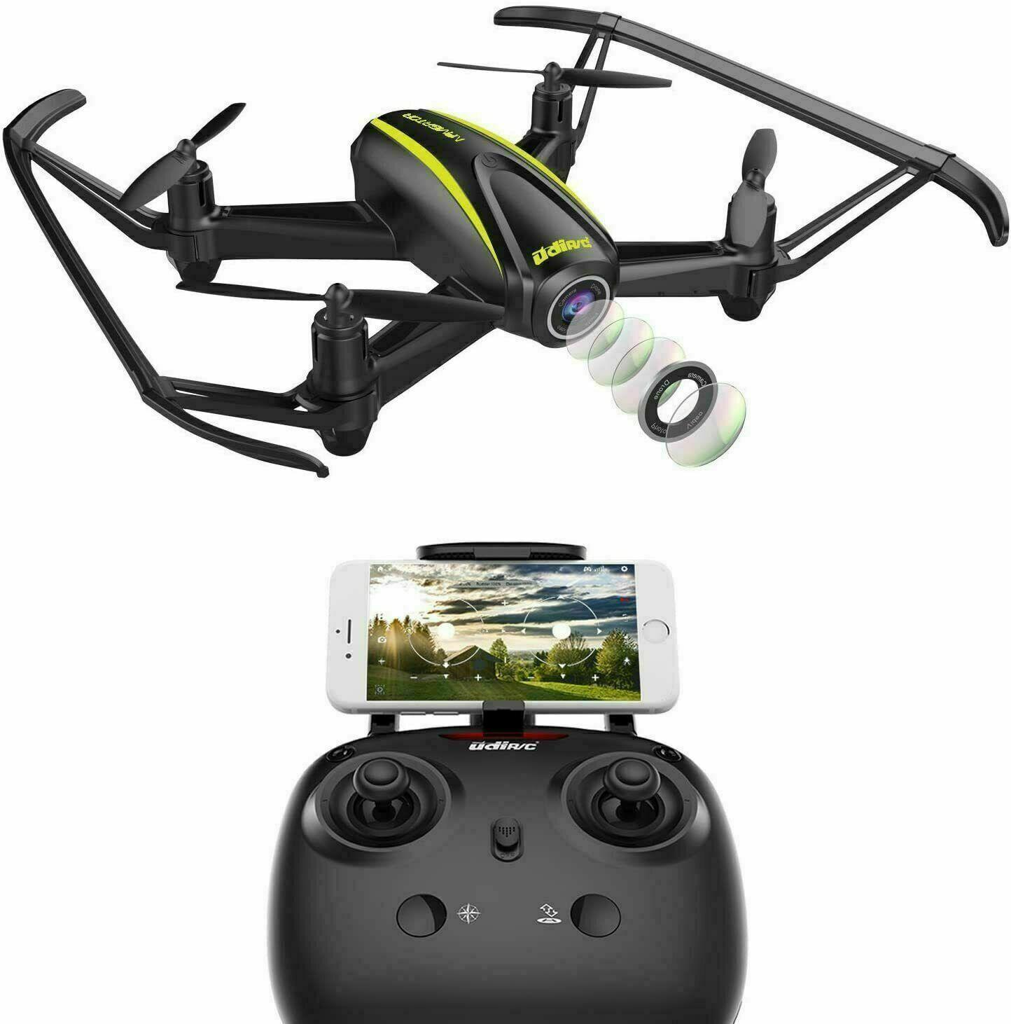 DROCON U31W Navigator FPV Drohne für Anfänger mit 2 MP HD-WI-FI-Kamera, ferngest
