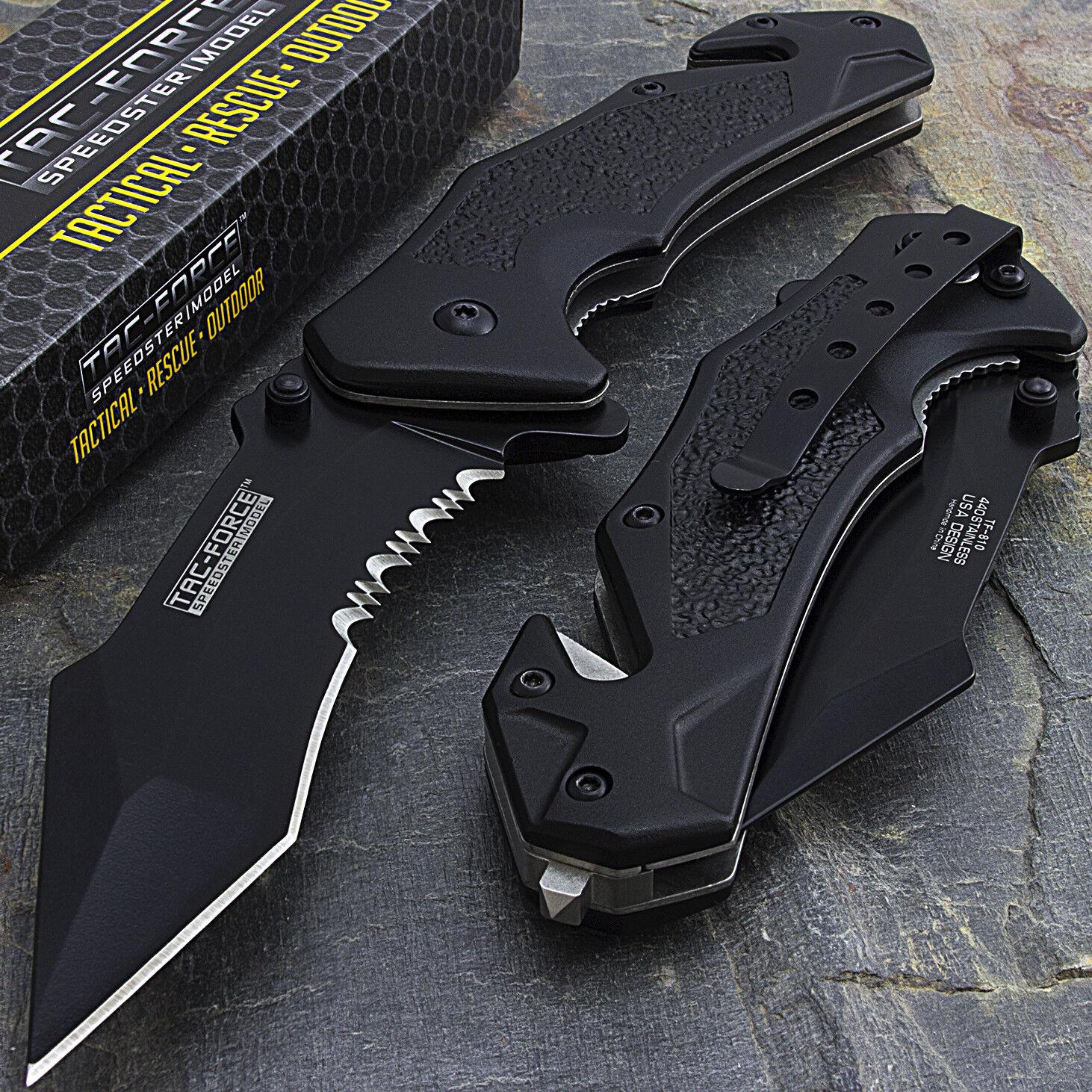 Купить Tac-Force - 8.25 TAC FORCE SPRING ASSISTED TACTICAL FOLDING POCKET KNIFE Blade Open Assist
