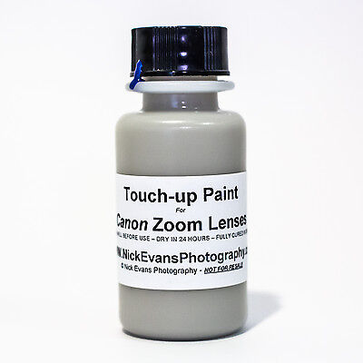 Touch Up Paint for Canon Zoom Telephoto EF 70-200mm - 1oz - BEST (Best Camera For 200)