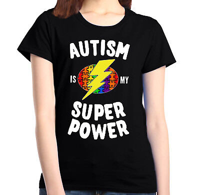 For sale Autism Is My Super Power Women's T-Shirt Autism Awareness Month Shirts