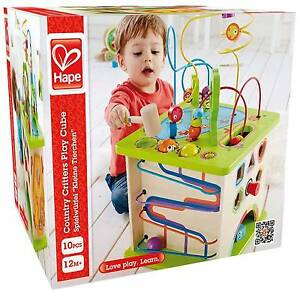 Hape country critters play cube BRAND NEW IN BOX RRP $199 Seven Hills Blacktown Area Preview