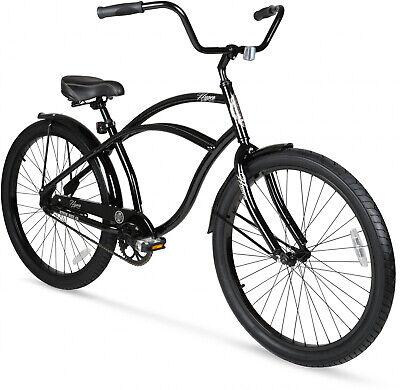 7bf820c6973 26 Beach Cruiser Bike Vintage Bicycle Comfort Seat Outdoor Cycling Black