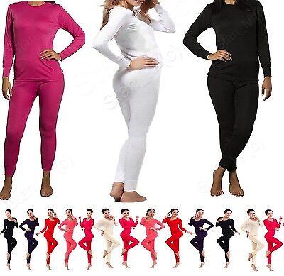 Cotton Pajamas - BRAND NEW Womens 2PC Thermal Underwear Set Top Bottom Sleepwear Pajamas Cotton