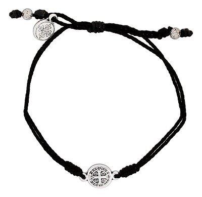 Inspirational BREATHE Bracelet Benedictine Medal, by My Saint My Hero - Hero Bracelets