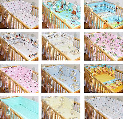 NESTCHEN und RUNDUM NESTCHEN für Bett 70x140 und 60x120cm Baby