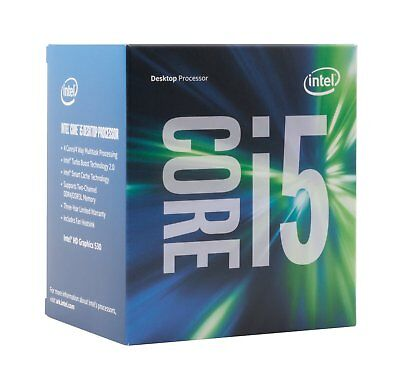 Intel CPU BX80677I57400 Ci5-7400 3.0GHz 6M LGA1151 4C/4T Kaby Lake Retail